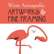 """<a href=""""https://www.westannapolisartworks.com"""" target=""""_blank"""" rel=""""noopener noreferrer"""">West Annapolis Framing</a>"""